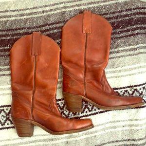 Vintage Frye Cowboy Boots ~ size 8.5